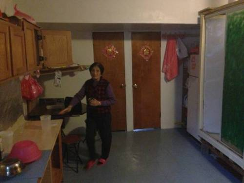 First apartment in NYC. My 81 year old Chinese roommate.